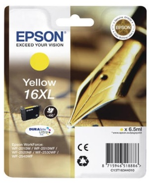 EPSON Epson Ink 16XL, yellow, xl C13T16344010