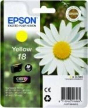 EPSON Epson Ink, Yellow 18 C13T18044010