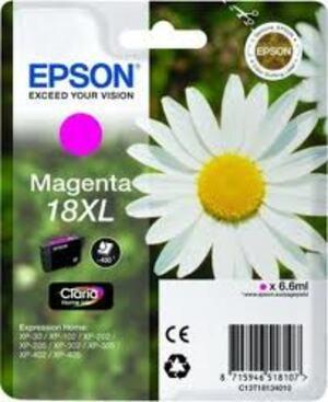 EPSON Epson Claria Ink 18XL, magenta Flower C13T18134010