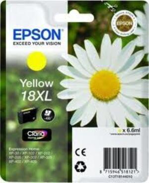 EPSON Epson Claria Ink 18XL, yellow Flower C13T18144010