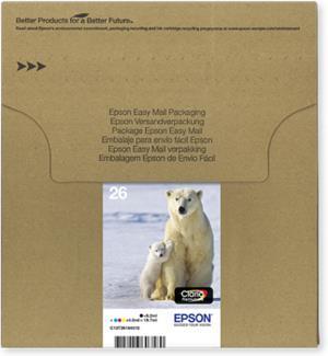 EPSON Multipack 4-colours 26 EasyMail C13T26164510