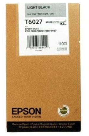EPSON Tintenpatrone light black C13T602700