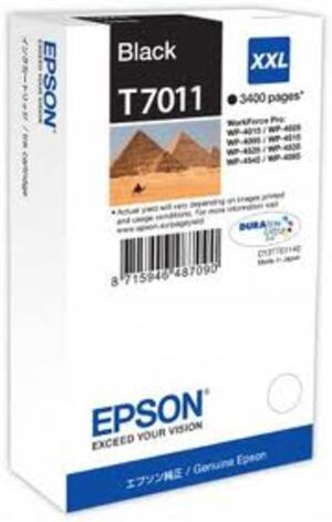 EPSON Ink Cart/WP4000/4500 Series XXL Black T701140