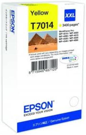 EPSON Ink Cart/WP4000/4500 Series XXL Yellow T701440