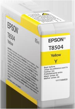 EPSON Ink Cart/UltraChromeHD Yellow C13T850400