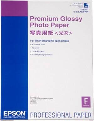 EPSON Paper/Premium Glossy Photo A2 25sh S042091