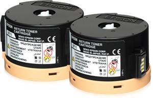 EPSON Toner/AL-M200/MX200 Double Return 2x2.5K C13S050711