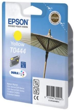 EPSON Ink DuraBrite, yellow C13T04444020