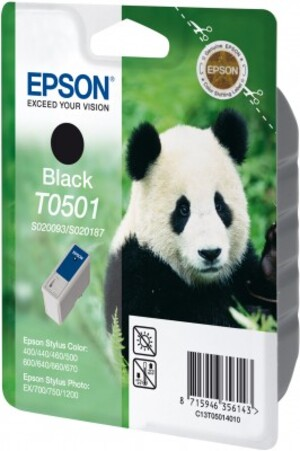 EPSON Ink Cartridge, black T050140