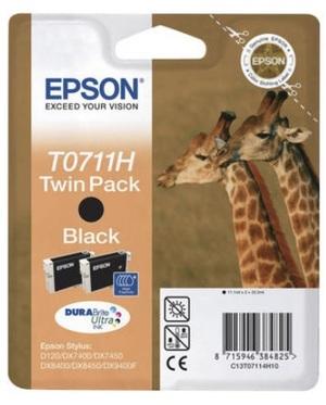 EPSON Tintenpatrone HY schwarz T07114H