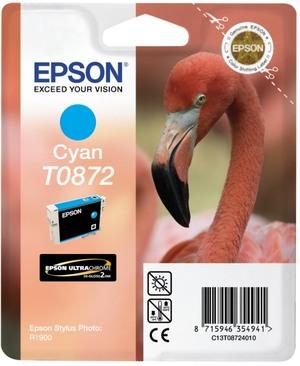 EPSON Tintenpatrone cyan T08724010