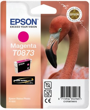 EPSON Tintenpatrone magenta T08734010