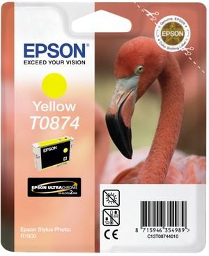 EPSON Tintenpatrone yellow T08744010