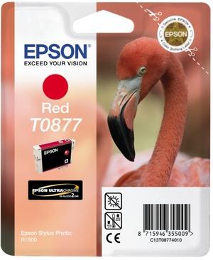 EPSON Tintenpatrone red T087740