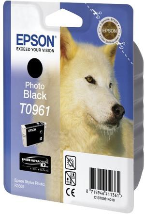 EPSON Tintenpatrone photo schwarz T096140