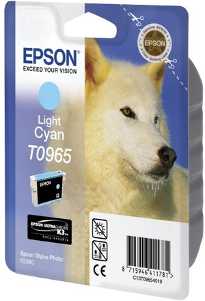 EPSON Tintenpatrone light cyan T096540
