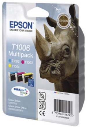 EPSON Multipack Tinte CMY T100640