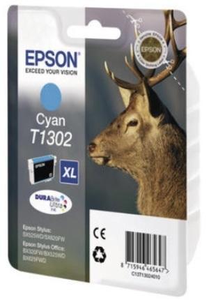EPSON Tintenpatrone cyan T130240