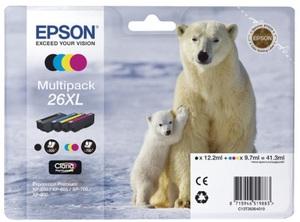 EPSON Multipack Tinte 26XL HY CMYBK T26364010