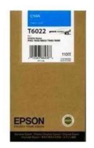 EPSON Tintenpatrone cyan T602200