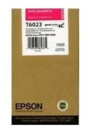 EPSON Tintenpatrone vivid magenta T602300
