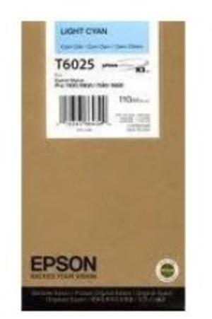 EPSON Tintenpatrone light cyan T602500