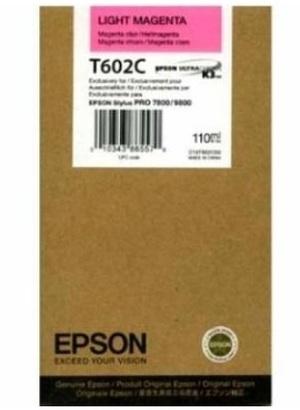 EPSON Tintenpatrone light magenta T602C00