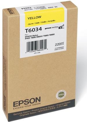 EPSON Tintenpatrone yellow T603400