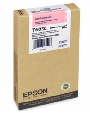 EPSON Tintenpatrone HY light magenta T603C00