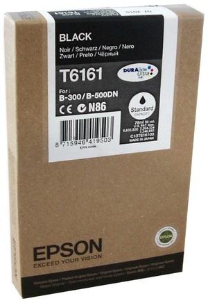 EPSON Tintenpatrone schwarz T616100