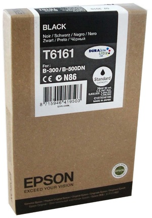 EPSON Tintenpatrone schwarz T617100