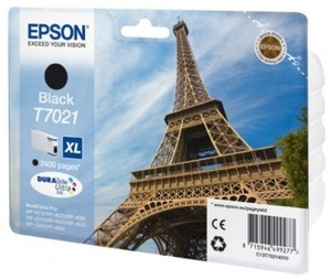 EPSON INK CARTRIDGE XL BLACK 2.4K T702140
