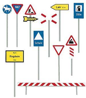 FALLER FALLER Verkehrszeichen Ep. III 1180539