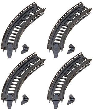 FALLER 4 Auffahrtsteile, gebogen 1222542