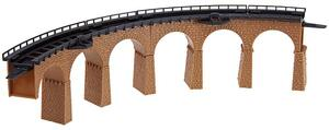 FALLER 2 Viaduktbrücken, gebogen 1222586