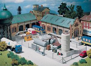 FALLER Industrie-Metallzaun, 370 mm 1272420