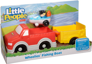 Fisher-Price Fisher-Price Wheelies Fischerboot CDH63