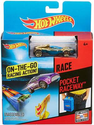 Hot Wheels Race Accessoire: Pocket Rennbahn CMB24
