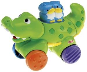 Fisher-Price Roll-Krokodil 40308162