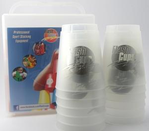 FlashCups Speed Stacking: (12 Stk., frozen) mit Lunchbox+DVD FLA01012