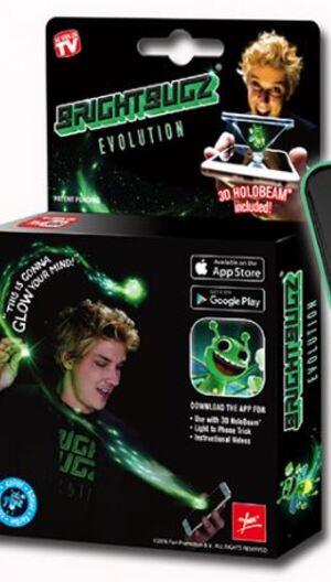 Fun Promotions Bright Bugz Evolution 3D leuchtende Glühwürmchen ass. mit App für Smartphone 88920075