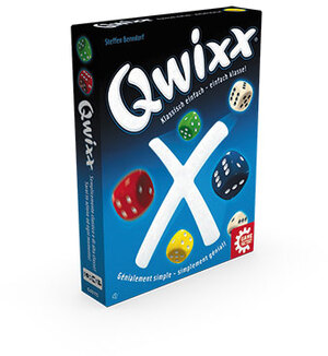 Game Factory Qwixx im Display (mult.) 76115