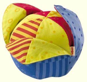 HABA Klappball Pelle, Greifball mit 3 Blütenblättern, 1028 Haba1028