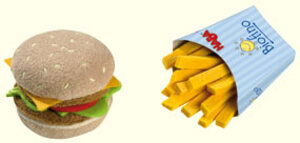 HABA Biofino Hamburger&Pommes ** HABA;1475