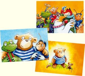 Glücks-Postkarten, eine wird geliefert 1535Z99
