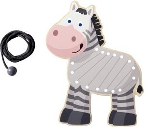 HABA Fädeltier Zebra ** 20229A1