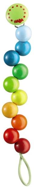 HABA Schnullerkette Regenbogen-Perlen HN19Di70301114