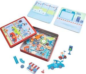 HABA Magnetspiel-Box Flotte Flitzer 301948