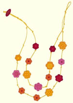 Kette Flower-Power (MQ4) 6545
