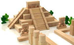 HABA Mayanesicher Tempel ** 700473